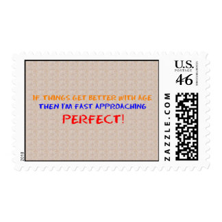 IF THINGS GET BETTER WITH AGE Postage