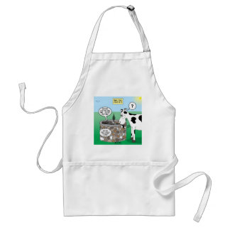 If Timmy had a Cow Adult Apron