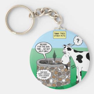 If Timmy had a Cow Keychain