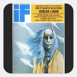 If v22 n02 (1973-12.UDP)Pulp Art Square Sticker