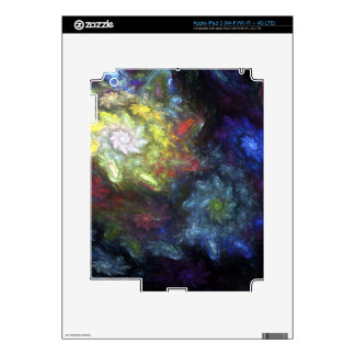 If Van Gogh Painted Fractals Skin For iPad 3