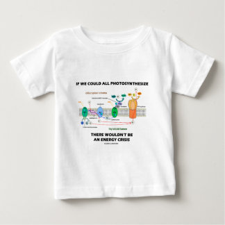If We Could All Photosynthesize Wouldn't Be Energy Tshirt