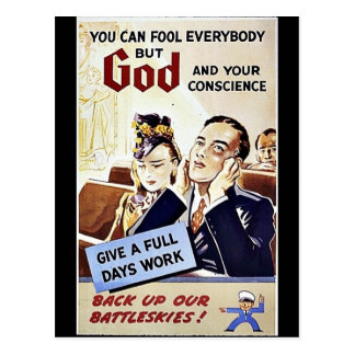 If Ye Break Faith With Us, Who Die, We Shall Not S Post Card