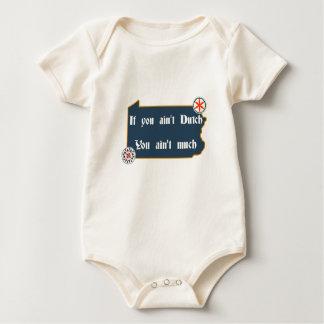 If You Ain't Dutch... Penna Dutch Baby Baby Bodysuit