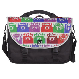 If you are Happy, Show it : Presentation Craft Laptop Commuter Bag