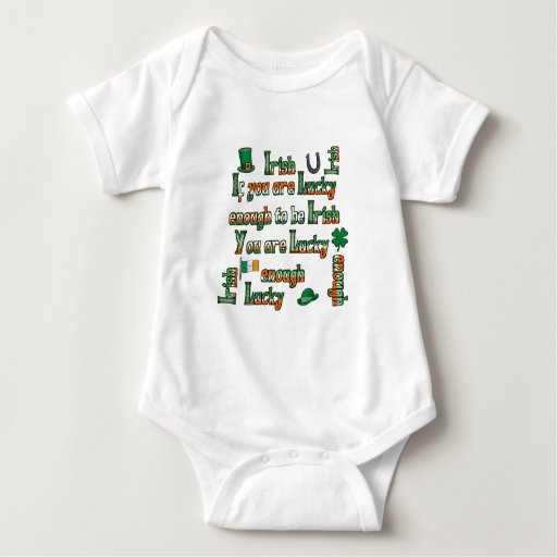 If You Are Lucky Enough to be Irish Infant Creeper