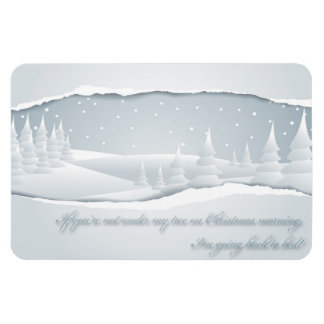 If you are not under my tree Premium Magnet