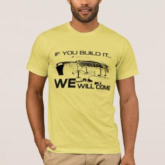 If You Build It Yellow T-Shirt