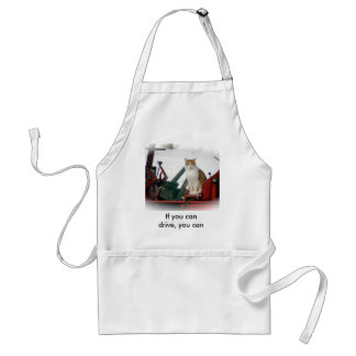 If you can drive, you can cook. adult apron