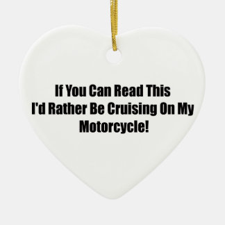 If You Can Read This Id Rather Be Cruising On My M Christmas Tree Ornament