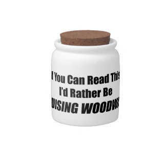If You Can Read This Id Rather Be Cruising Woodwar Candy Jars