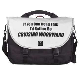 If You Can Read This Id Rather Be Cruising Woodwar Bag For Laptop