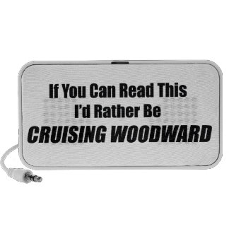 If You Can Read This Id Rather Be Cruising Woodwar Laptop Speakers