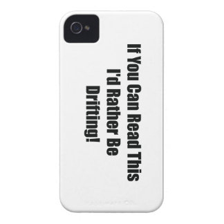 If You Can Read This Id Rather Be  Drifting iPhone 4 Cover