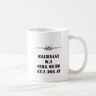 If you can read this I'm inverted Coffee Mug