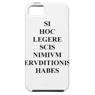 If You Can Read This Latin Skin iPhone SE/5/5s Case