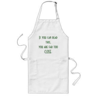 If You Can Read This... Long Apron