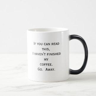 If you can read this... magic mug