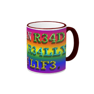 If You Can Read This ... Ringer Mug