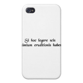 If you can read this, you're overeducated. iPhone 4/4S covers