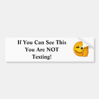 If You Can See This.... Car Bumper Sticker