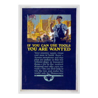 If you can use tools you are wanted poster