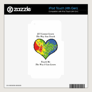 If You Cannot Teach Me iPod Touch 4G Skin
