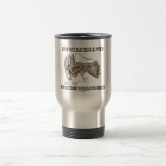 If You Can't Hear What I Am Saying (Ear Anatomy) 15 Oz Stainless Steel Travel Mug