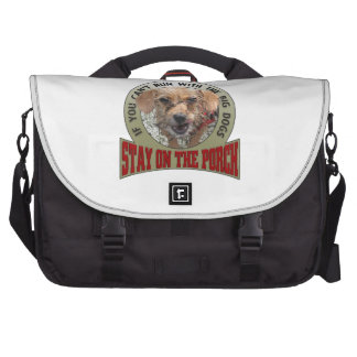 If You Can't Run With the Big Dogs Laptop Computer Bag