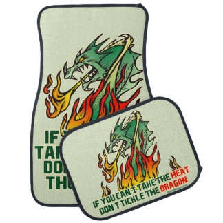 If You Can't Take The Heat Car Mat