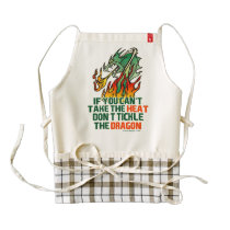 If You Can't Take The Heat Zazzle HEART Apron
