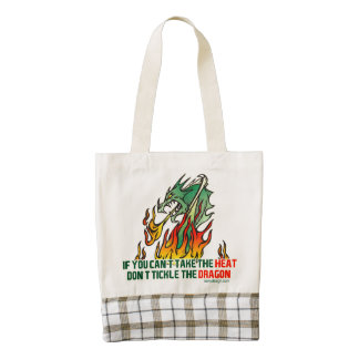 If You Can't Take The Heat Zazzle HEART Tote Bag