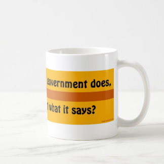 If you can't trust government mugs