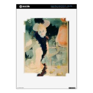 'If You Cough, Take Geraudel Pastilles' (colour li iPad 3 Skins