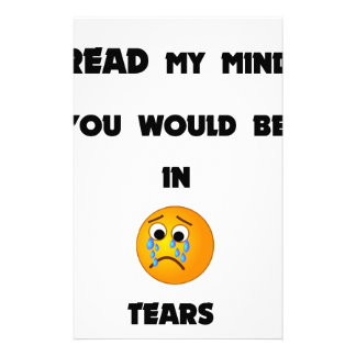 if you could read my mind you would be in tears2.p stationery