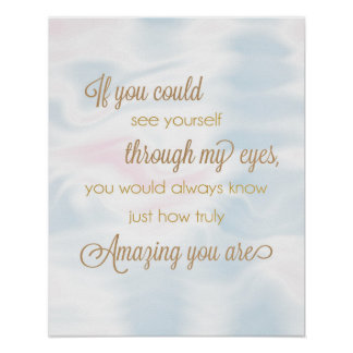 If You Could See Yourself Through My Eyes Poster