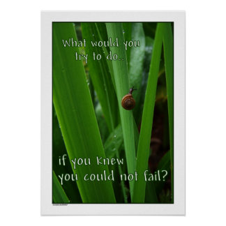 If You Couldn't Fail Poster print