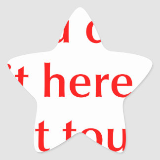 if-you-didnt-put-it-here-opt-red.png pegatina en forma de estrella
