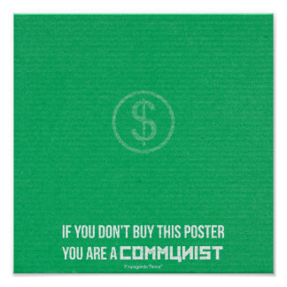 If you don't buy this poster... poster