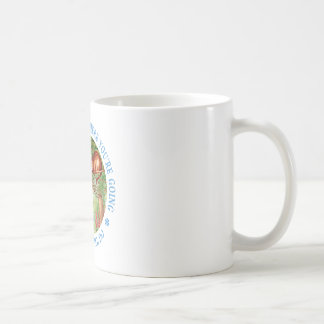 If you don't know where you're going, any path coffee mug