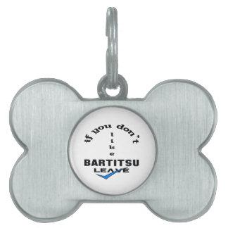 If you don't like Bartitsu Leave Pet ID Tag
