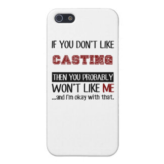 If You Don't Like Casting Cool Case For iPhone SE/5/5s