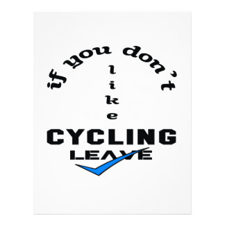 If you don't like Cycling Leave Letterhead
