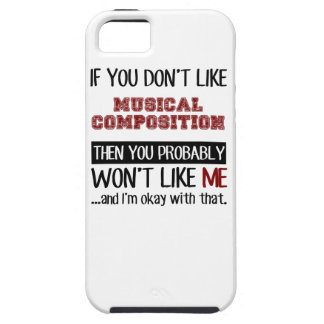 If You Don't Like Musical Composition Cool iPhone SE/5/5s Case