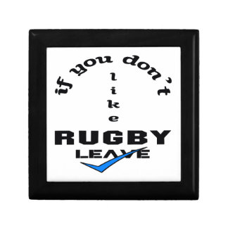 If you don't like Rugby Leave Jewelry Box
