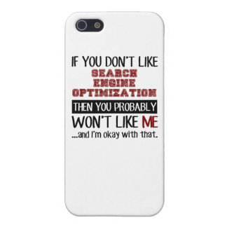 If You Don't Like Search Engine Optimization Cool Case For iPhone SE/5/5s