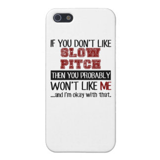 If You Don't Like Slow Pitch Cool iPhone SE/5/5s Cover