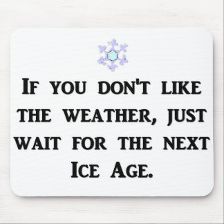 if-you-dont-like-the-weather-just-wait-for-the mouse pad