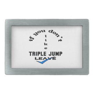 If you don't like Triple Jump Leave Rectangular Belt Buckle