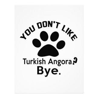If You Don't Like Turkish Angora Cat ? Bye Letterhead